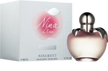 Nina Ricci Nina L'Eau toaletní voda pro ženy 80 ml