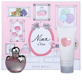 Nina Ricci Nina L'Eau zestaw upominkowy II.