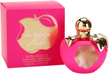 Nina Ricci La Tentation De Nina Eau de Toilette for Women 80 ml
