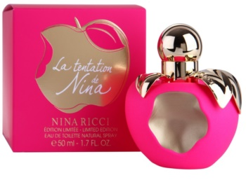 Nina Ricci La Tentation De Nina Eau de Toilette for Women 50 ml