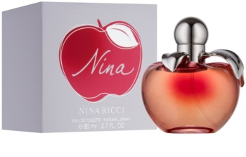 Nina Ricci Nina Eau de Toilette für Damen 80 ml