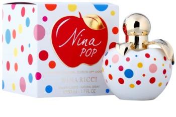 Nina Ricci Nina Pop toaletní voda pro ženy 50 ml  10th Birthday Edition