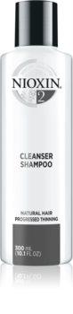 Nioxin System 2 čistiaci šampón pre jemné až normálne vlasy