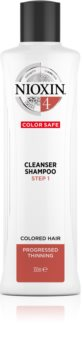 Nioxin System 4 Gentle Shampoo For Damaged And Colored Hair