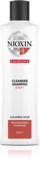Nioxin System 4 shampooing doux pour cheveux colorés et abîmés
