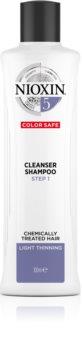 Nioxin System 5 čisticí šampon pro barvené řídnoucí vlasy