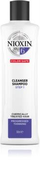 Nioxin System 6 čisticí šampon pro chemicky ošetřené vlasy
