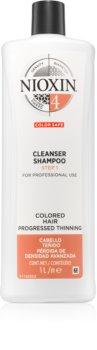 Nioxin System 4 jemný šampon pro barvené a poškozené vlasy