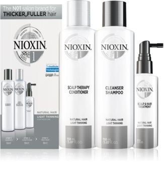 Nioxin System 1 kosmetická sada