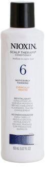 Nioxin System 6 Scalp Therapy könnyű kondicionáló vegyileg kezelt finom, normál vagy erős szálú haj jelentős ritkulása ellen