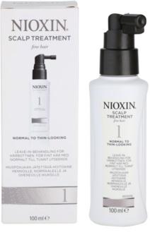 Nioxin System 1 tratamentul scalpului pentru par fin si subtiat