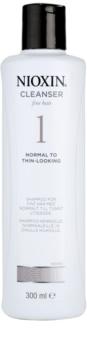 Nioxin System 1 champô para cabelo fino