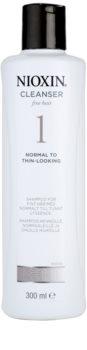 Nioxin System 1 šampón pre jemné vlasy