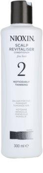 Nioxin System 2 kondicionér na výrazné rednutie prirodzene jemných vlasov