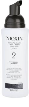 Nioxin System 2 Acalp Treatment To Treat Noticeable Thinning Of FineNatural Hair