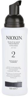 Nioxin System 2 ošetření pokožky pro výrazné řídnutí jemných přírodních vlasů