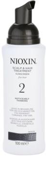 Nioxin System 2 zdravljenje kože proti izrazitemu redčenju tankih naravnih las