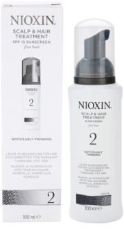 Nioxin System 2 tratamentul scalpului impotriva caderii parului natural foarte fin