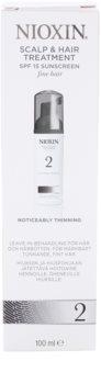 Nioxin System 2 ošetrenie pokožky na výrazné rednutie prirodzene jemných vlasov