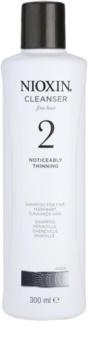 Nioxin System 2 шампоан  за значително оредяване на финна природна коса