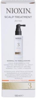 Nioxin System 3 ošetření pokožky pro počáteční mírné řídnutí jemných chemicky ošetřených vlasů