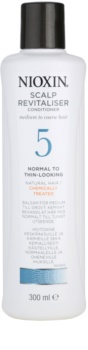 Nioxin System 5 condicionador leve para rarefação suave de cabelo normal a forte, natural e quimicamente tratado