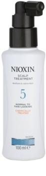 Nioxin System 5 zdravljenje kože za rahlo redčenje normalnih do močnih naravnih in kemično obdelanih las