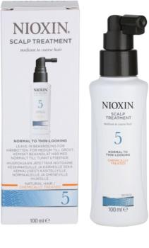 Nioxin System 5 Hautpflege für leichtes ausdünnen von normalem bis kräftigen natürlichen und chemisch behandelten Haaren