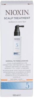 Nioxin System 5 tratamiento para cuero cabelludo para una pérdida moderada de la densidad del cabello normal-grueso, virgen o químicamente tratado