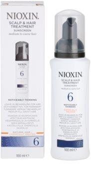 Nioxin System 6 tratamento de pele para rarefação marcante de cabelo normal a forte, natural e quimicamente tratado