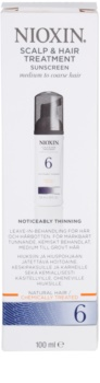 Nioxin System 6 ošetrenie pokožky pre výrazné rednutie normálnych až silných, prírodných a chemicky ošetrených vlasov