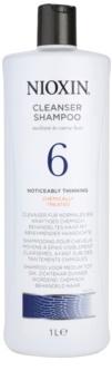 Nioxin System 6 čistiaci šampón pre výrazné rednutie normálnych až silných, prírodných a chemicky ošetrených vlasov