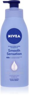 Nivea Smooth Sensation vlažilni losjon za telo za suho kožo