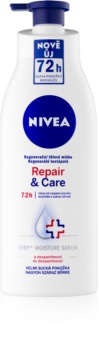 Nivea Repair & Care leite corporal regenerador para pele extra seca