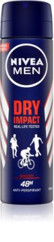 Nivea Men Dry Impact deodorant ve spreji