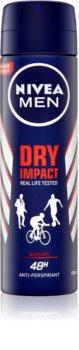 Nivea Men Dry Impact dezodorant v pršilu