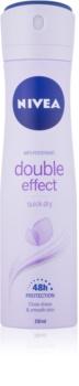Nivea Double Effect antiperspirant v spreji 48h