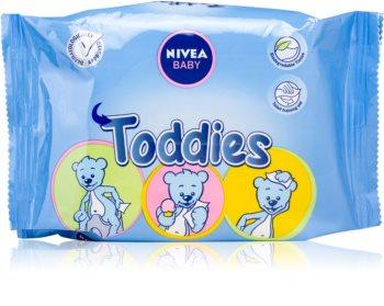 Nivea Baby Toddies toalhitas de limpeza para crianças