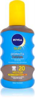 Nivea Sun Protect & Bronze Dry Sun Oil SPF 20