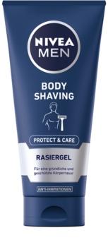 Nivea Men Protect & Care gel pentru bărbierit