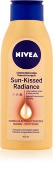 Nivea Sun-Kissed Radiance lotiune nuantatoare