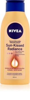 Nivea Sun-Kissed Radiance színező tej