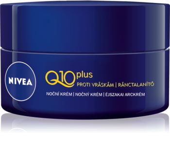 Nivea Q10 Power Firming Anti-Wrinkle Night Cream  With Coenzyme Q10
