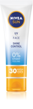 Nivea Sun Matte Sunscreen On Your Face SPF 30