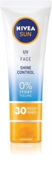 Nivea Sun mattító napozó krém az arcra SPF 30
