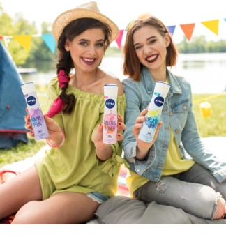 Nivea Fabulous Flower Antiperspirant Spray 48h