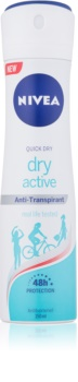 Nivea Dry Active antiperspirant v pršilu