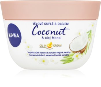 Nivea Coconut & Monoi Oil Body Souffle