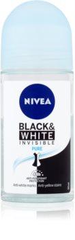 Nivea Invisible Black & White Pure antiperspirant roll-on