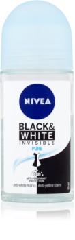 Nivea Invisible Black & White Pure кульковий антиперспірант
